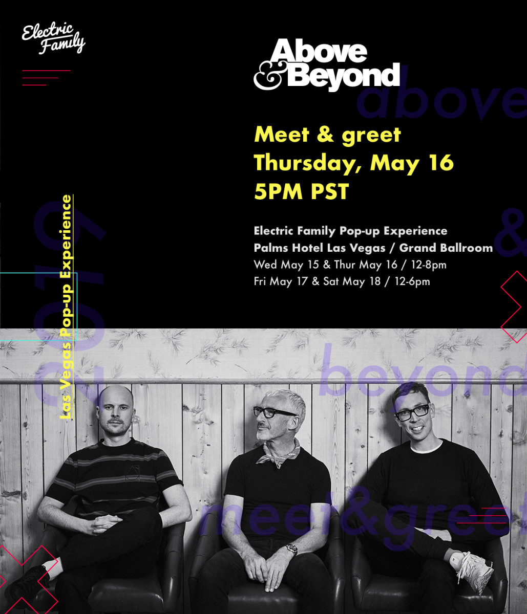 Electric Family / Above & Beyond Meet & Greet (Las Vegas Pop-Up Experience)