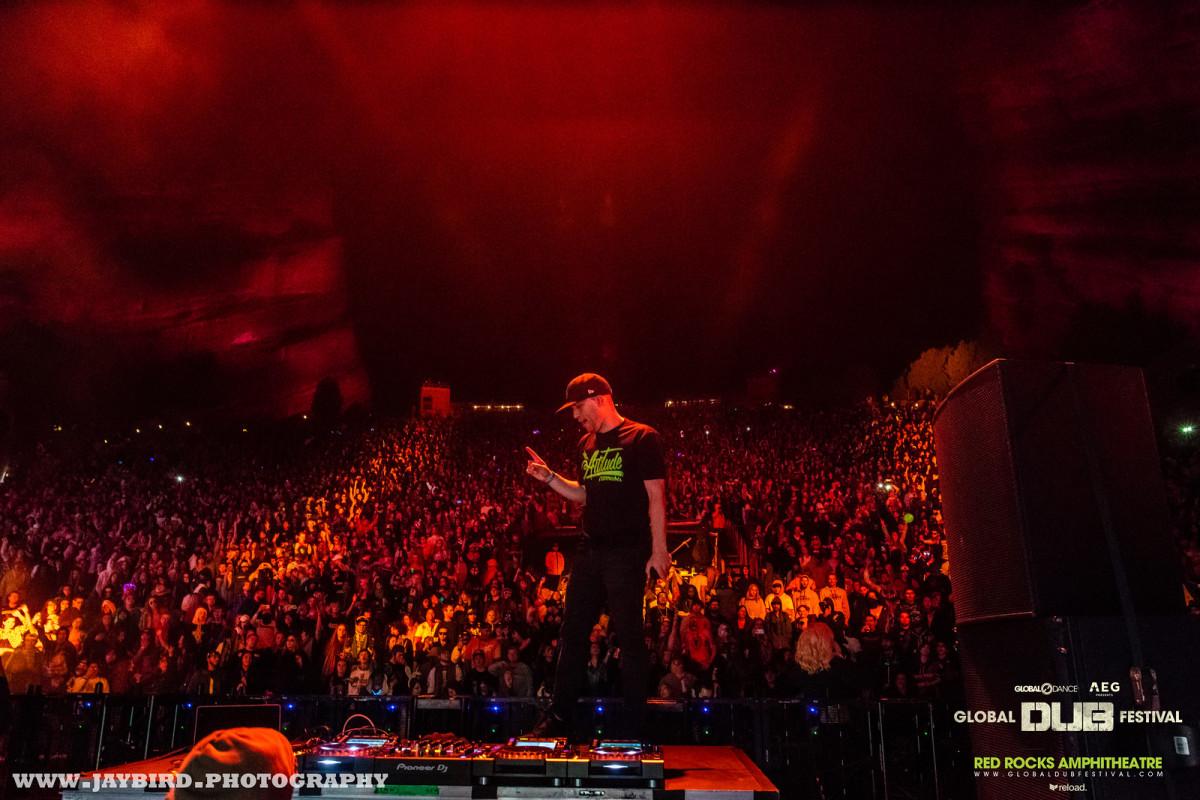 Bear Grillz - Red Rocks (Global Dub Festival) by Jaybird.Photography