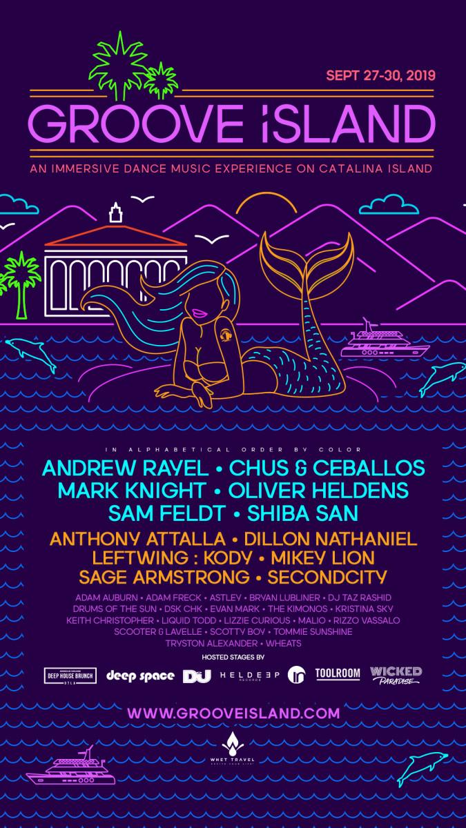 Groove Island Lineup