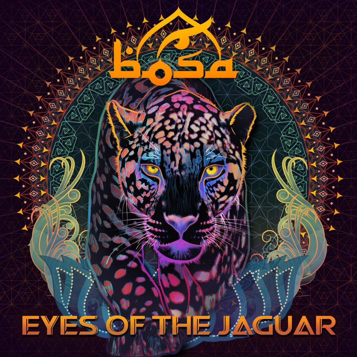 BOSA - Eyes Of The Jaguar (Album Cover Art) - Stephan Jacobs New Alias