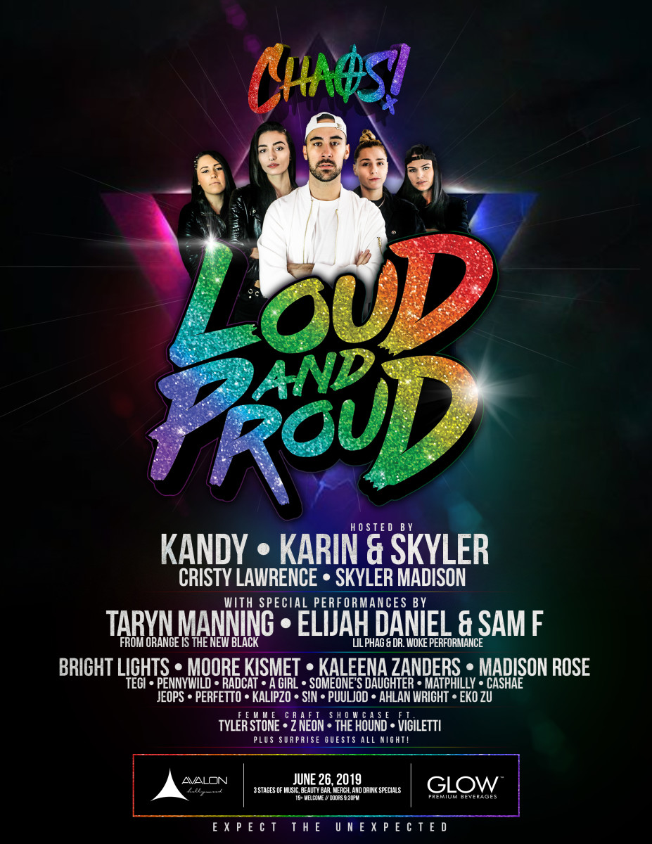 LOUD & PROUD Tour - Stop at The Avalon in LA (KANDY, KARIN & SKYLER, Cristy Lawrence, Skyler Madison, Taryn Manning, and more!)