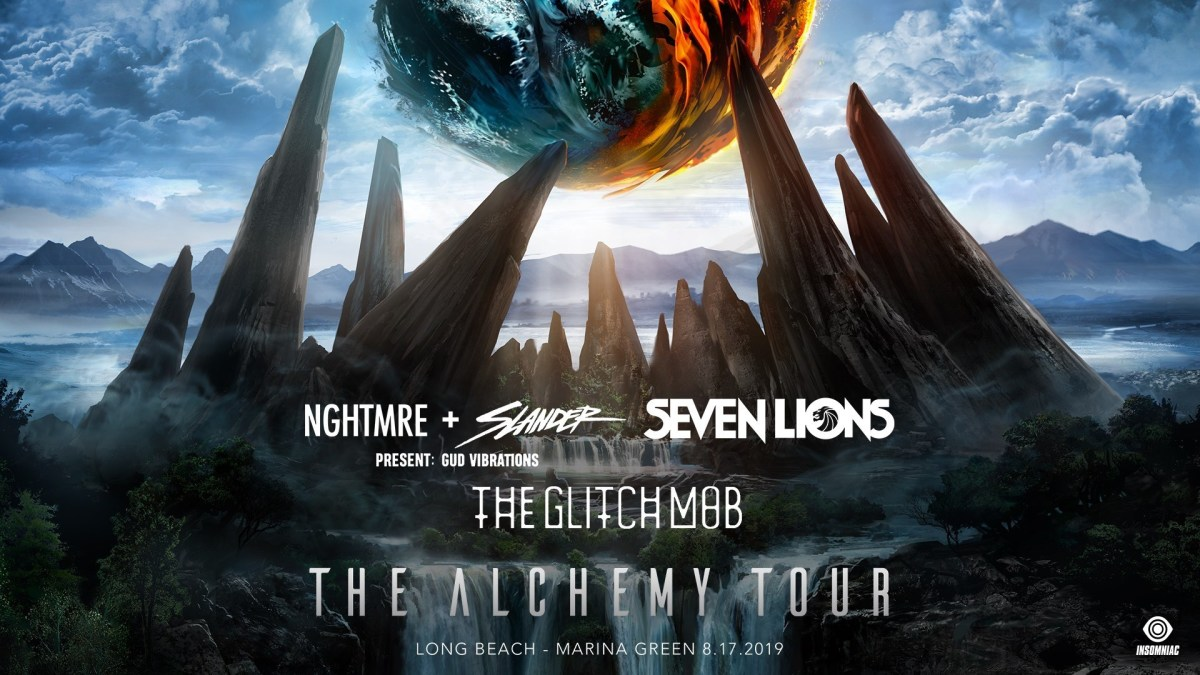 The Alchemy Tour: NGHTMRE, SLANDER, Seven Lions, The Glitch Mob + GUD VIBRATIONS) -- INSOMNIAC EVENTS