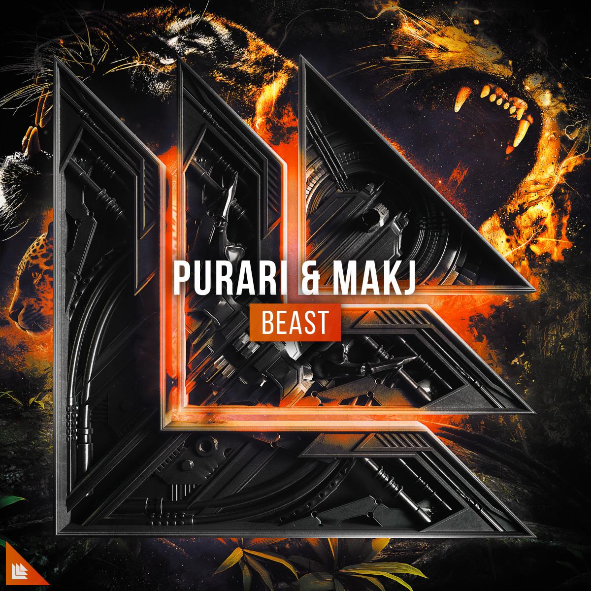 Purari & MAKJ - Beast (ALBUM ART)