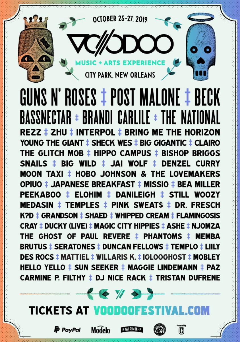 voodoo 2019 lineup