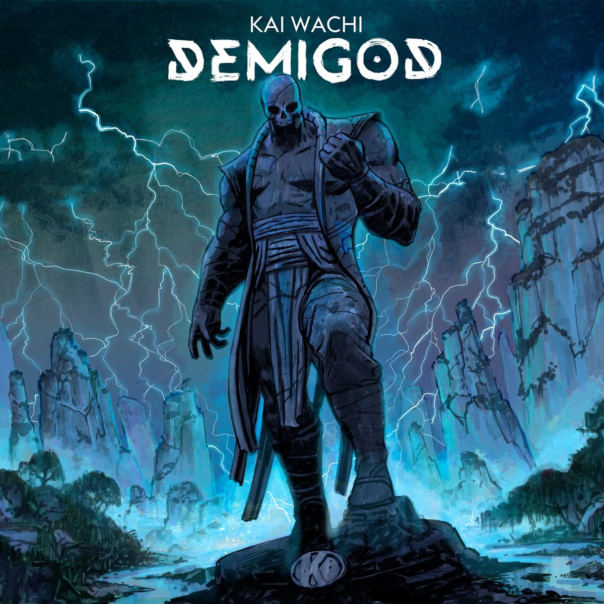 KAI WACHI - Demigod LP (Album Art) - OUT NOW on Kannibalen Records