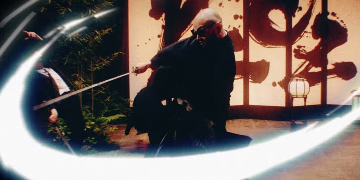 Afrojack PKCZ CL Cut It Up Music Video Still Sword Animation