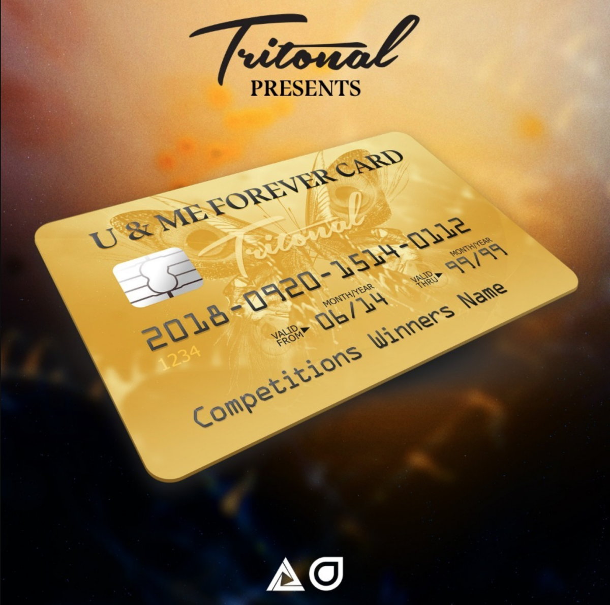Tritonal U&ME Forever Gold Card for Lifetime Free Attendance