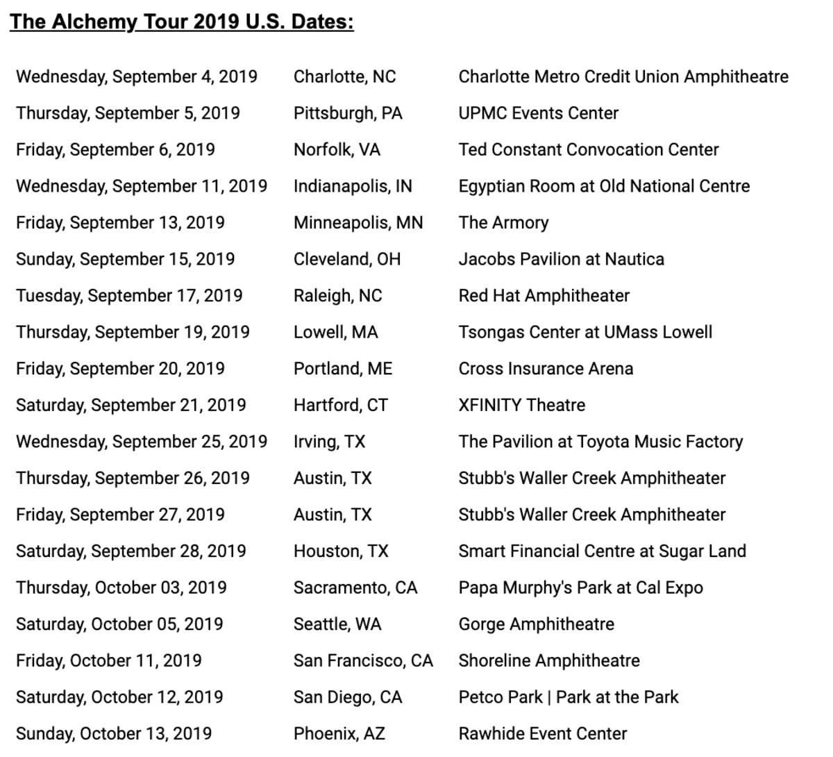 Tour Dates for the 2019 Alchemy Tour (NGHTMRE, Slander, GlitchMob) -- Prodigy Artists / Gud VIbrations