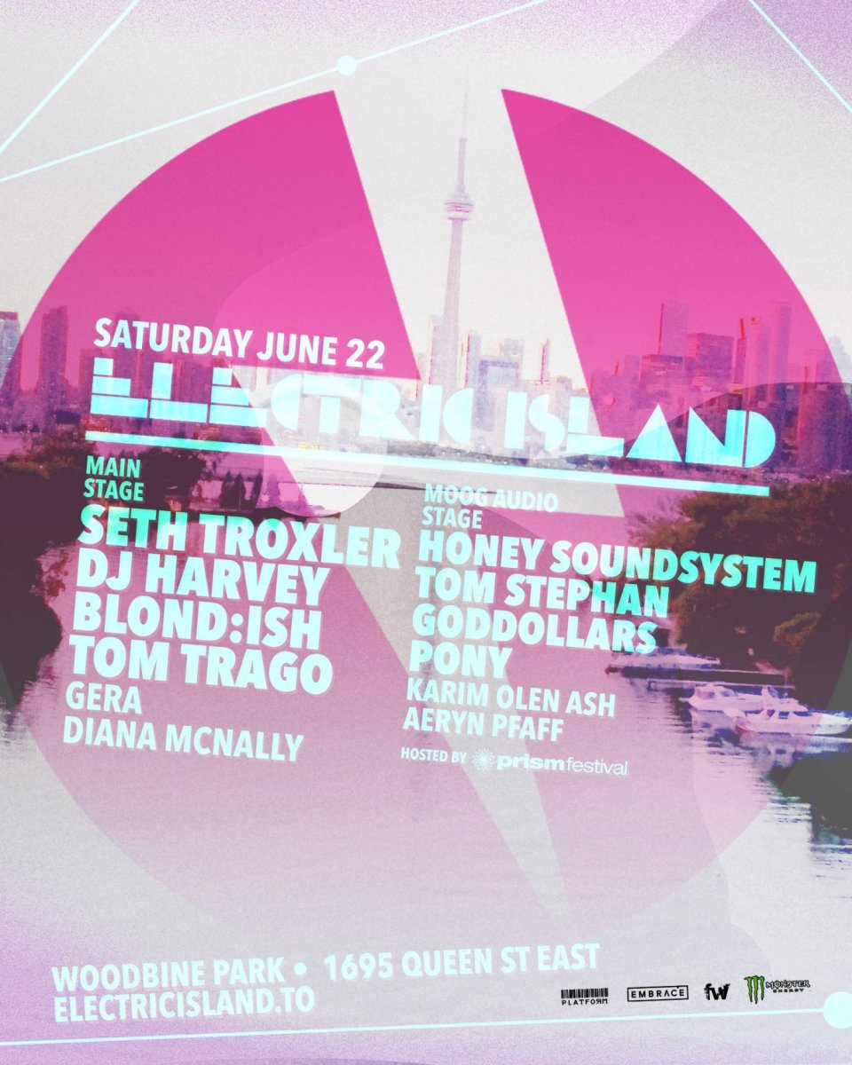 Electric Island 2019 June Lineup