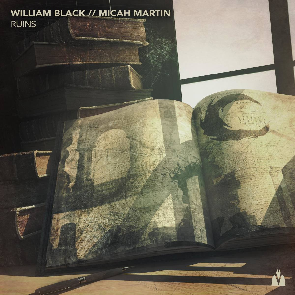 "William Black // Micah Martin ""Ruins"" on Trap Nation's Lowly (ALBUM ART)"