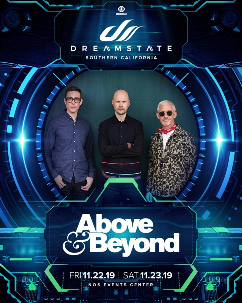 Dreamstate SoCal 2019's final lineup announcement: Above & Beyond
