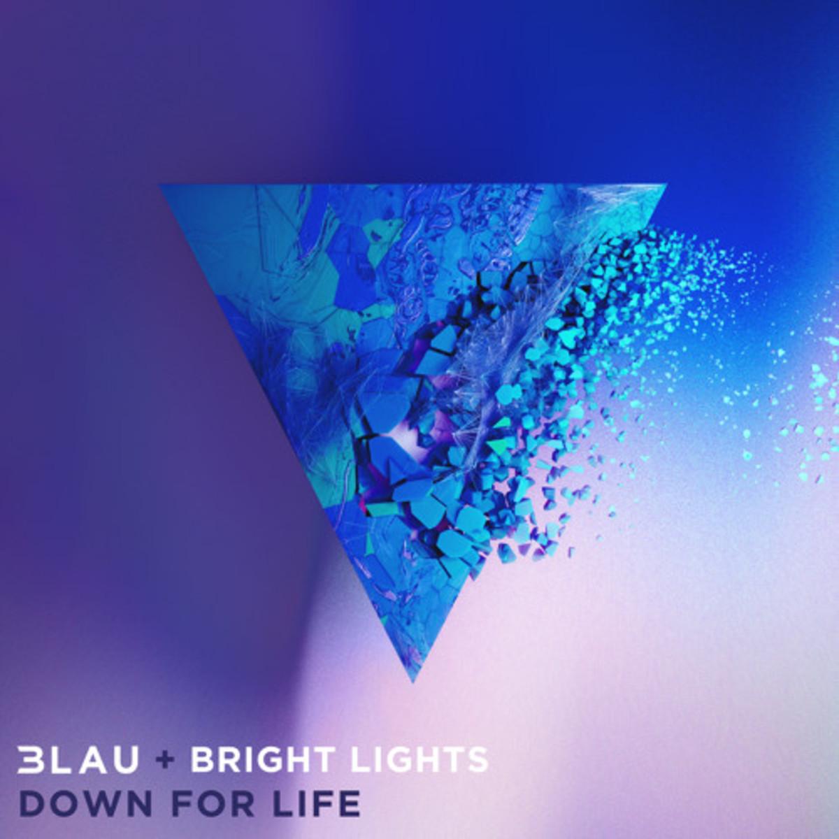 3LAU & Bright Lights - Down For Life (ALBUM ART)