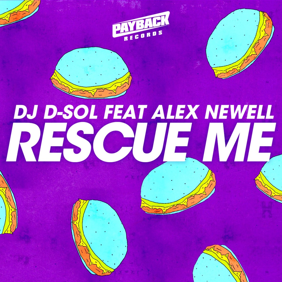 D-Sol - Rescue Me (ALBUM ART)