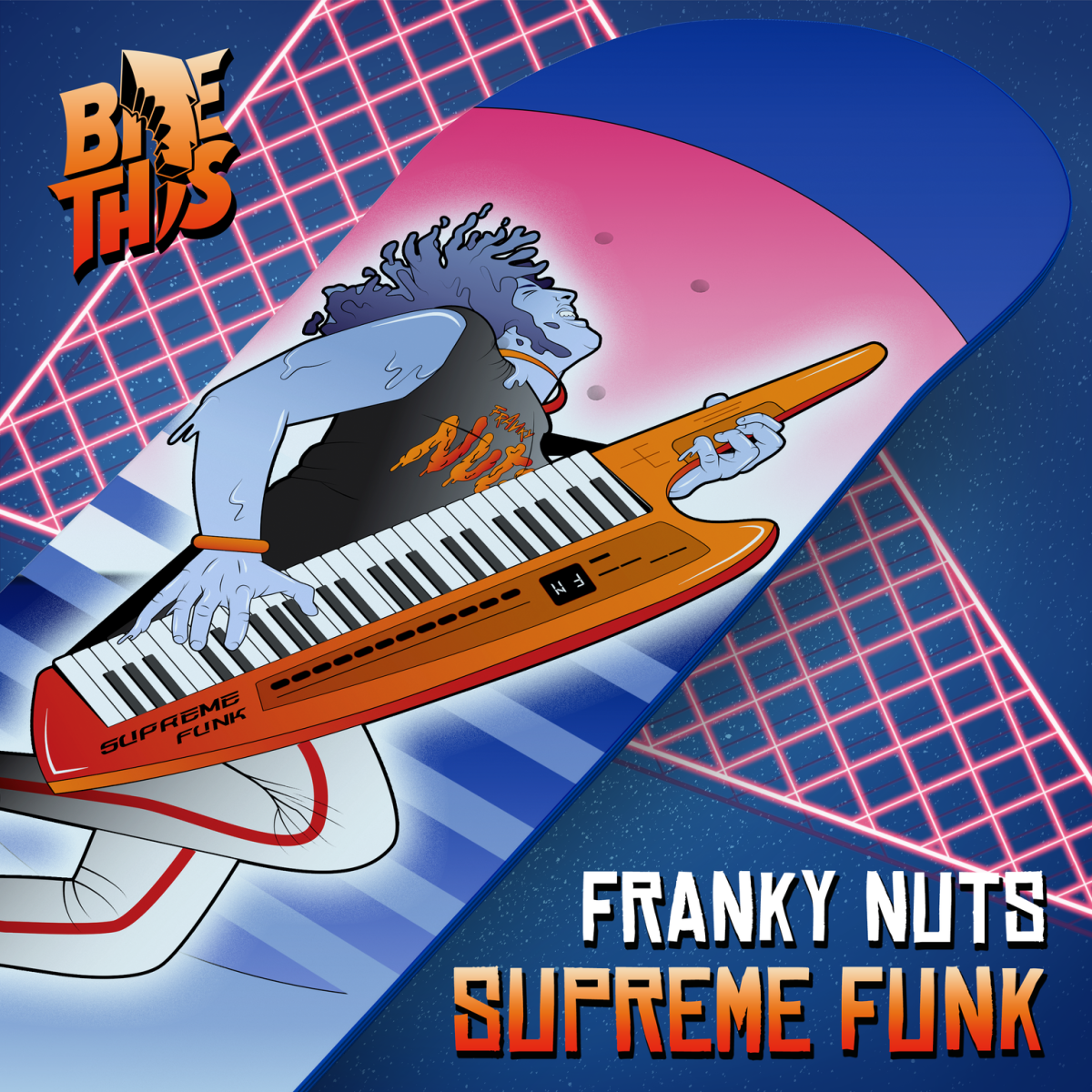 franky nuts supreme funk cover art