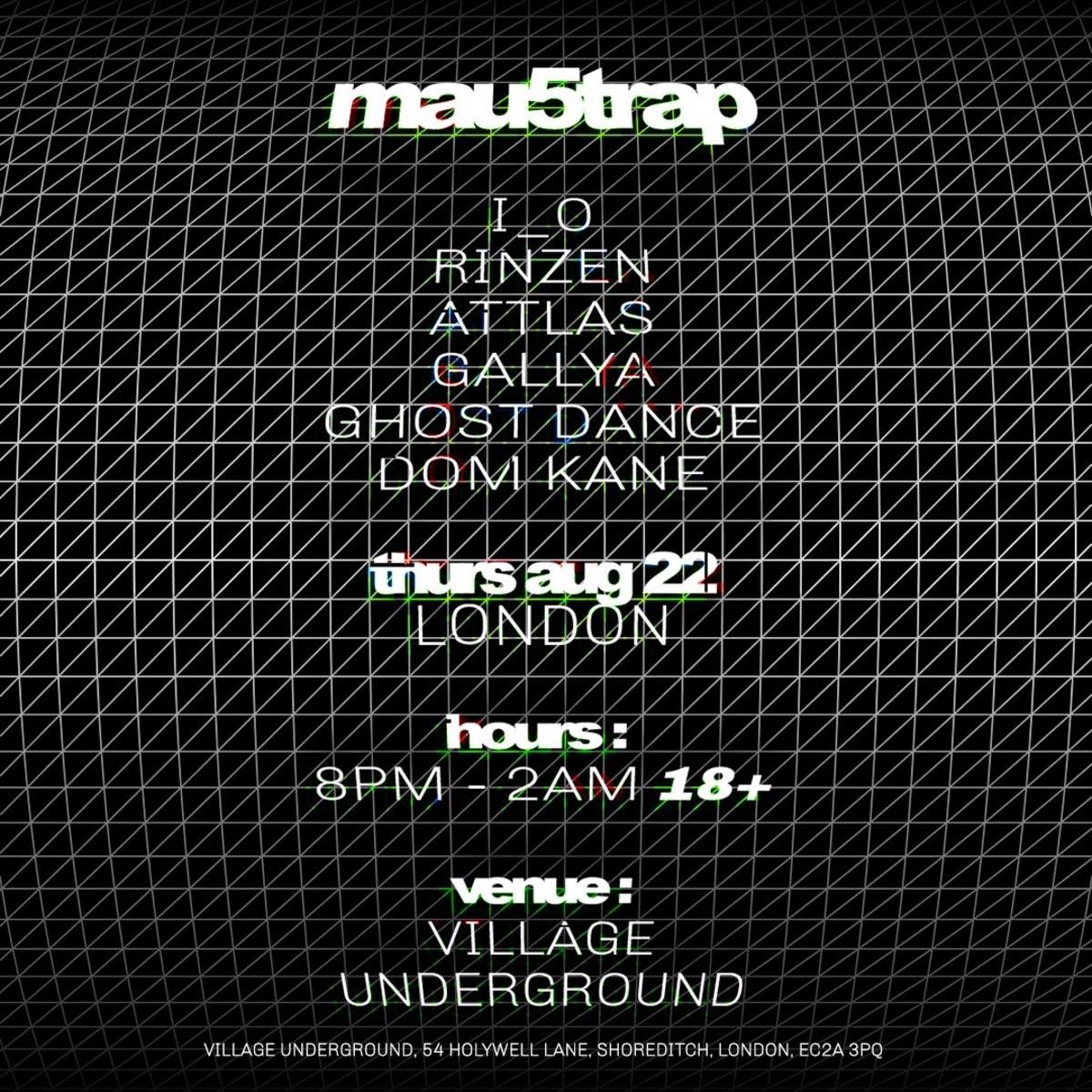mau5trap label takeover - London