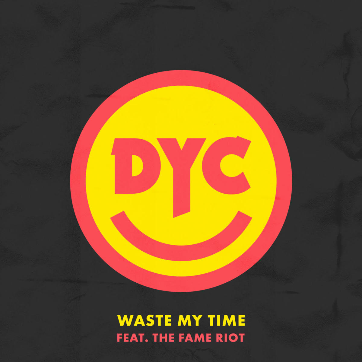 Dance Yourself Clean - Waste My Time (ALBUM ART)