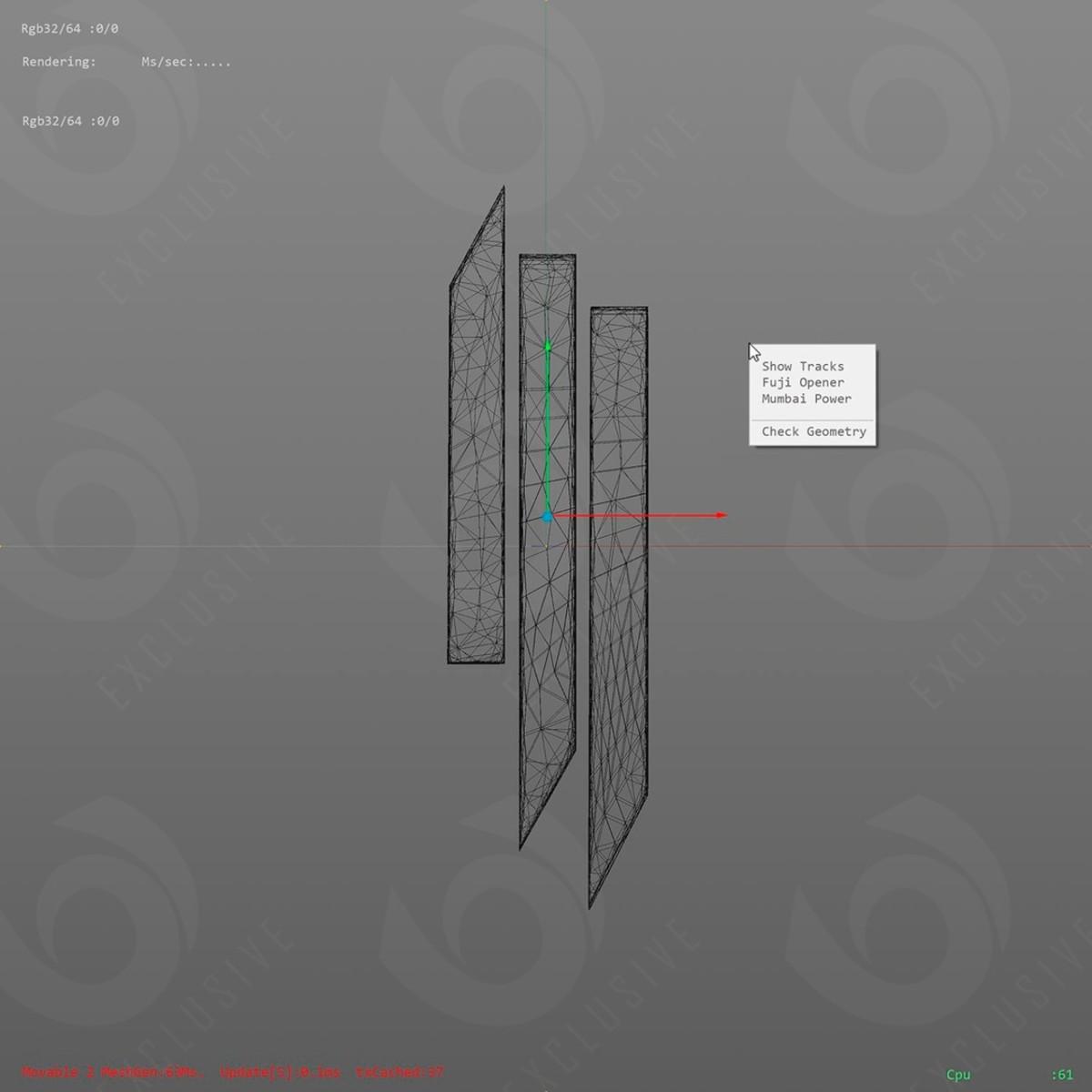 Apparently leaked album artwork Skrillex Show Tracks EP.