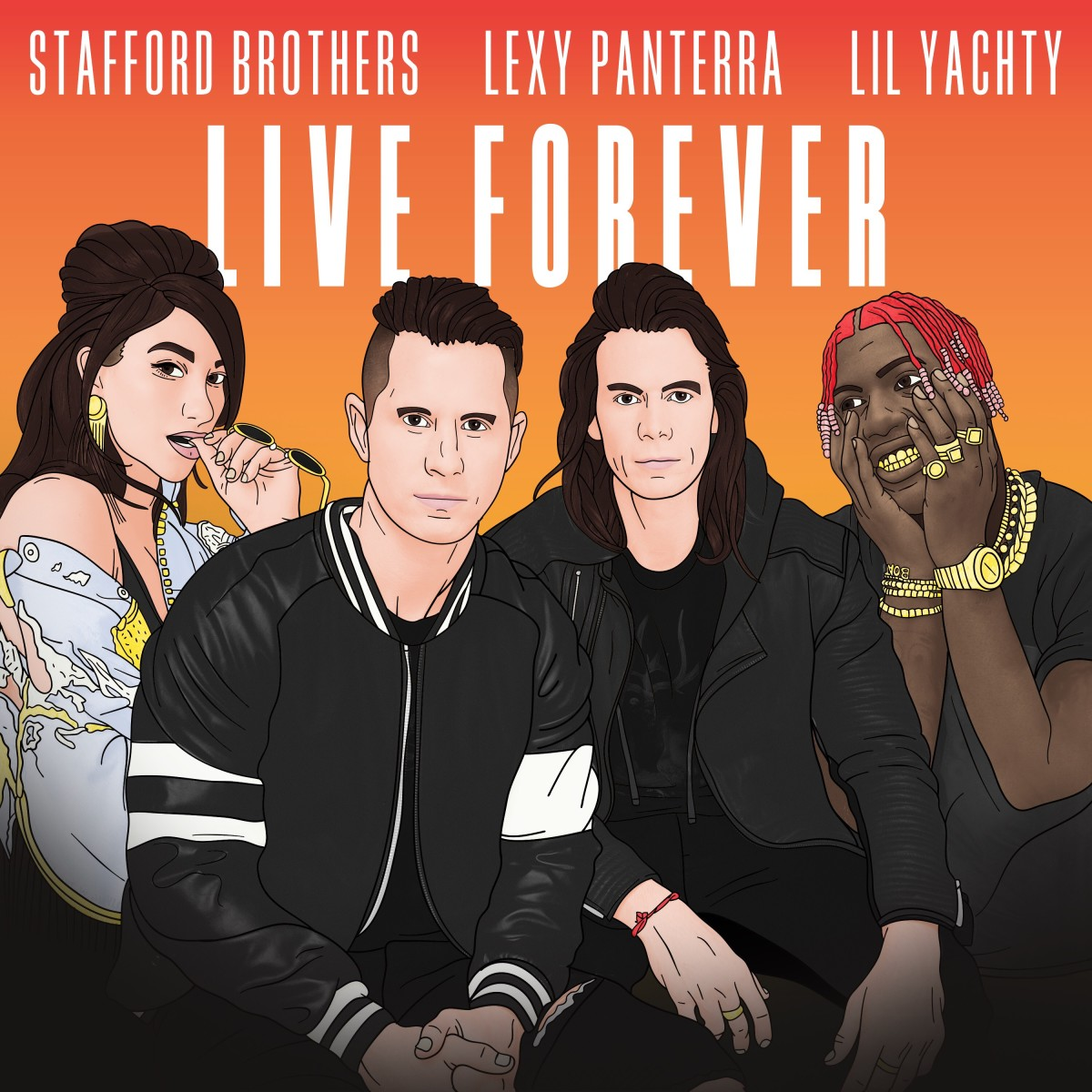 Stafford Brothers, Lexy Panterra, Lil Yachty - Live Forever