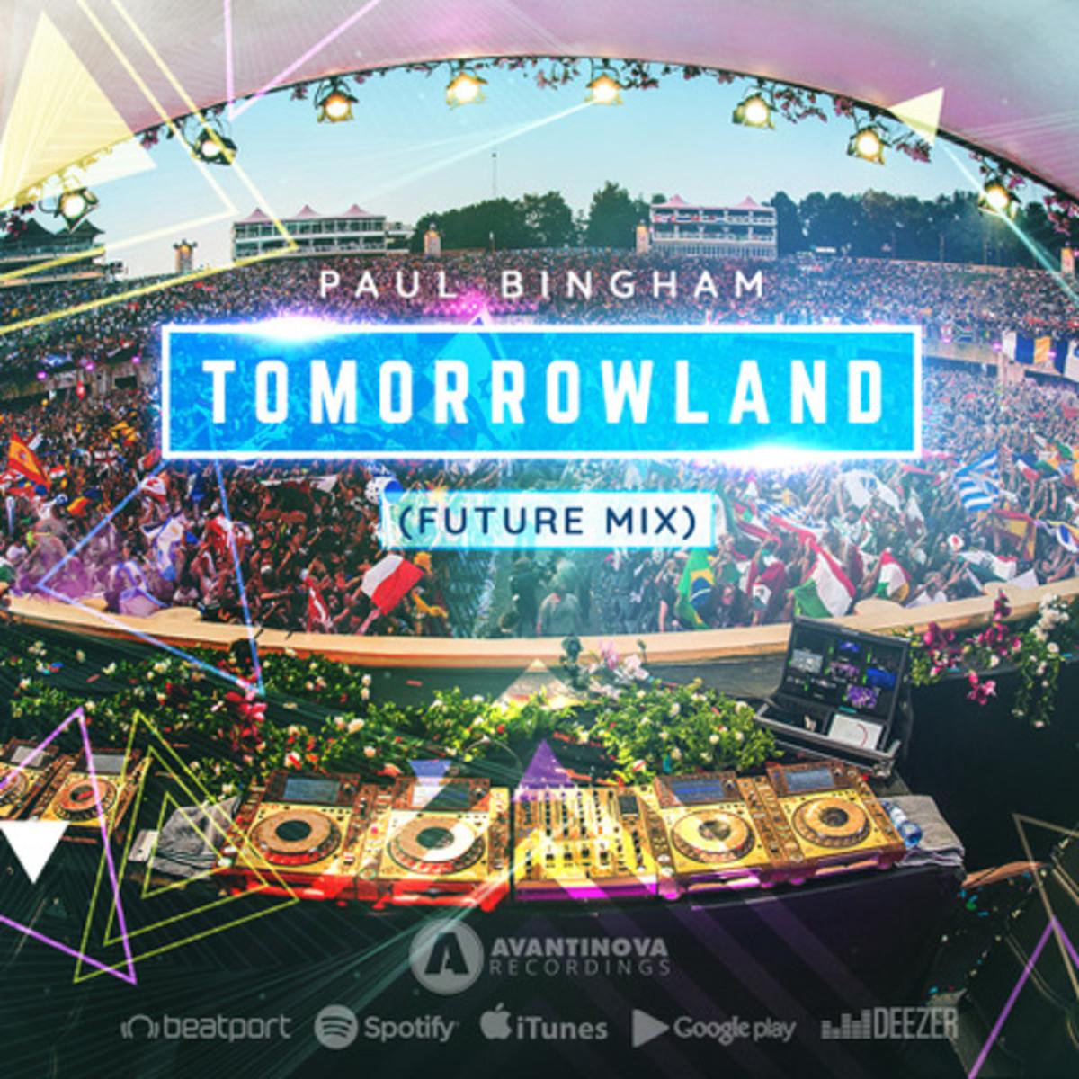 Paul Bingham - Tomorrowland (Future Mix) -- ALBUM ARTWORK
