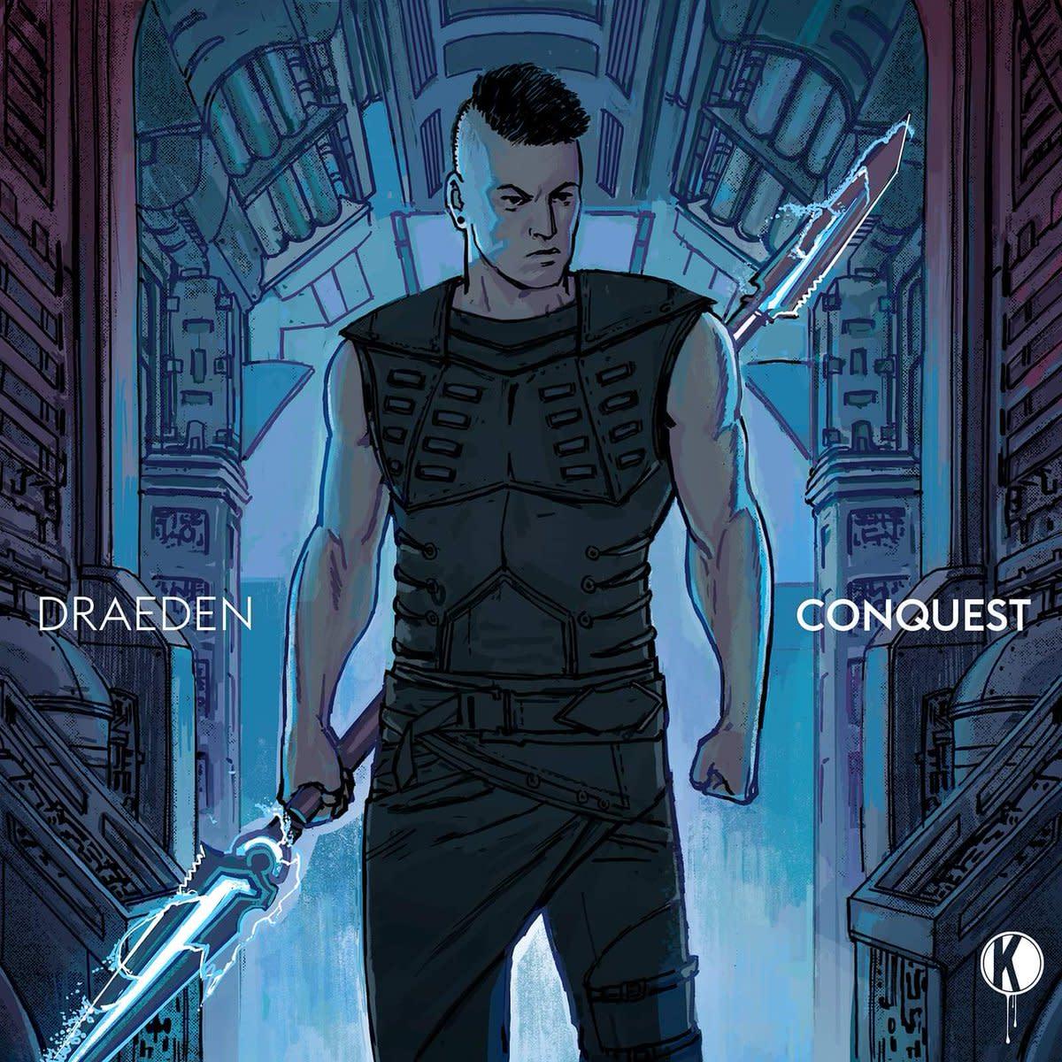 Draeden - Conquest EP (Kannibalen Records) - ALBUM ARTWORK
