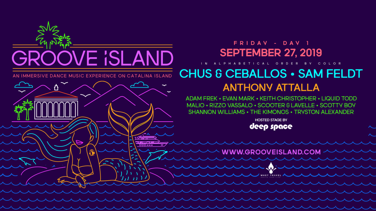 Groove Island Friday Lineup