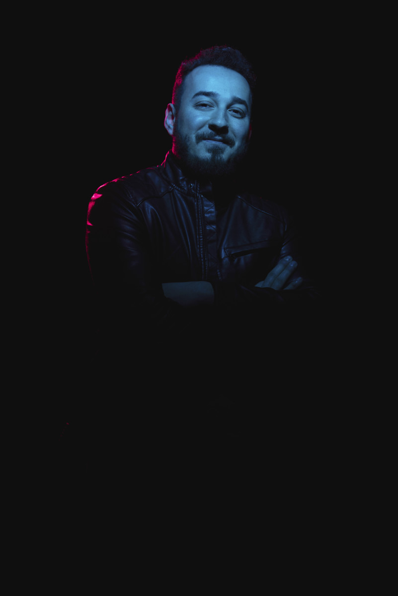 Ahmed Romel - Press Photo (Blue Light in Darkness)