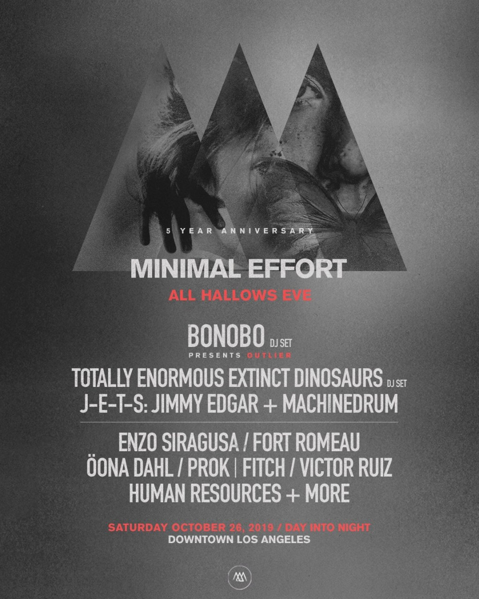 Minimal Effort - All Hallows Eve Lineup