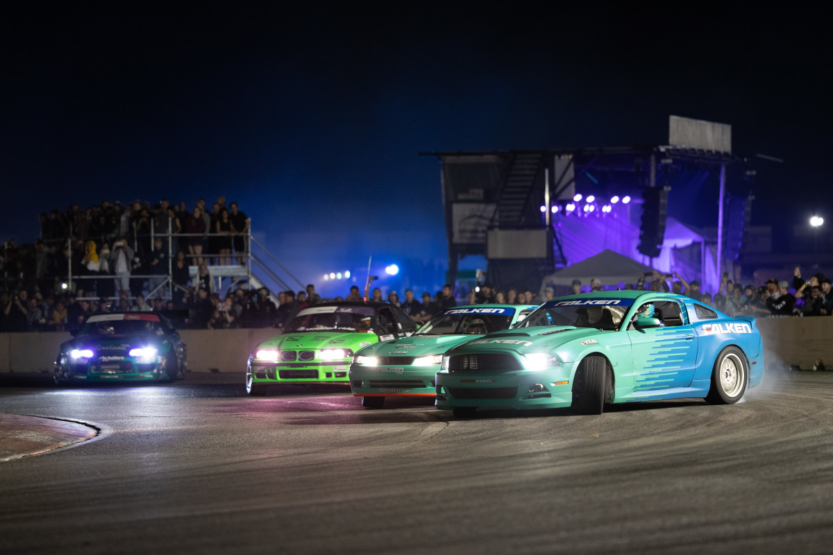 GridLife Drifting Event in Colorado Springs (Alpine Horizon festival)