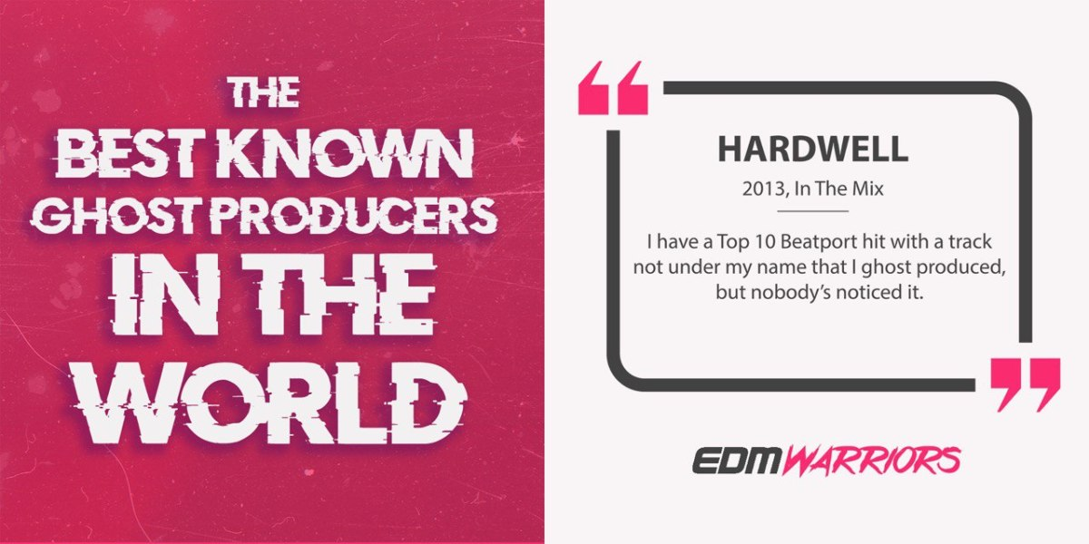 Hardwell Ghost Producer - EDMWarriors