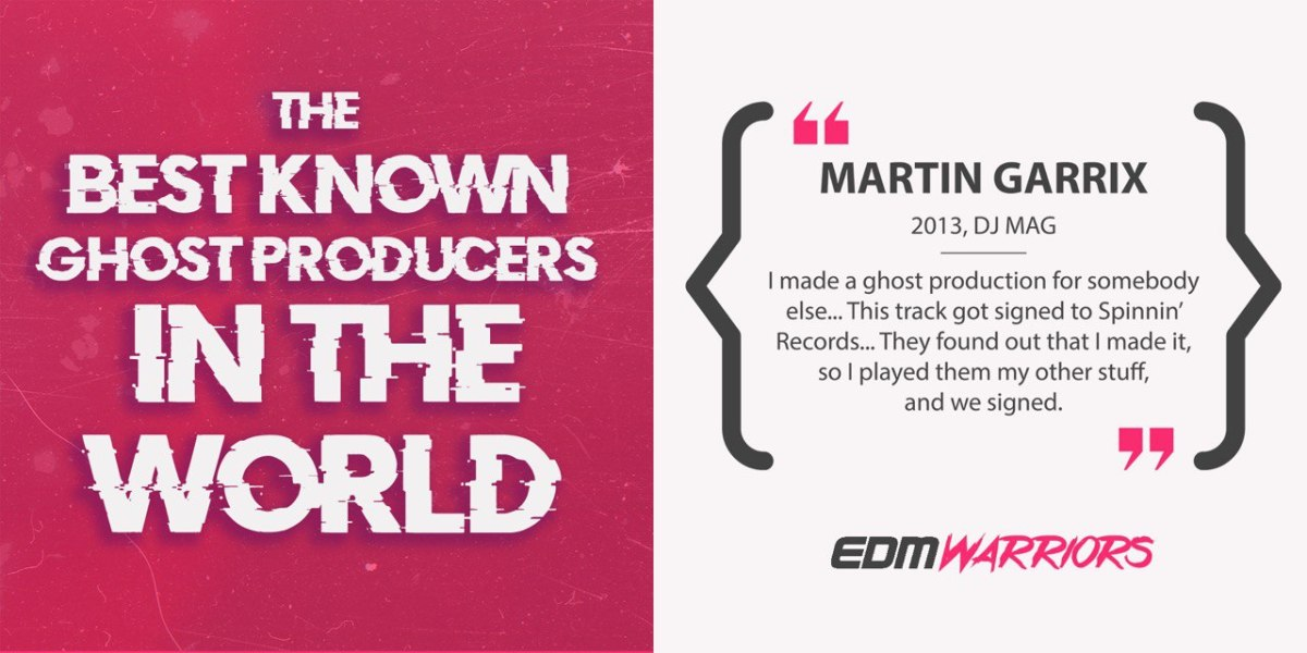 Martin Garrix - Ghost Producer (EDMWarriors)