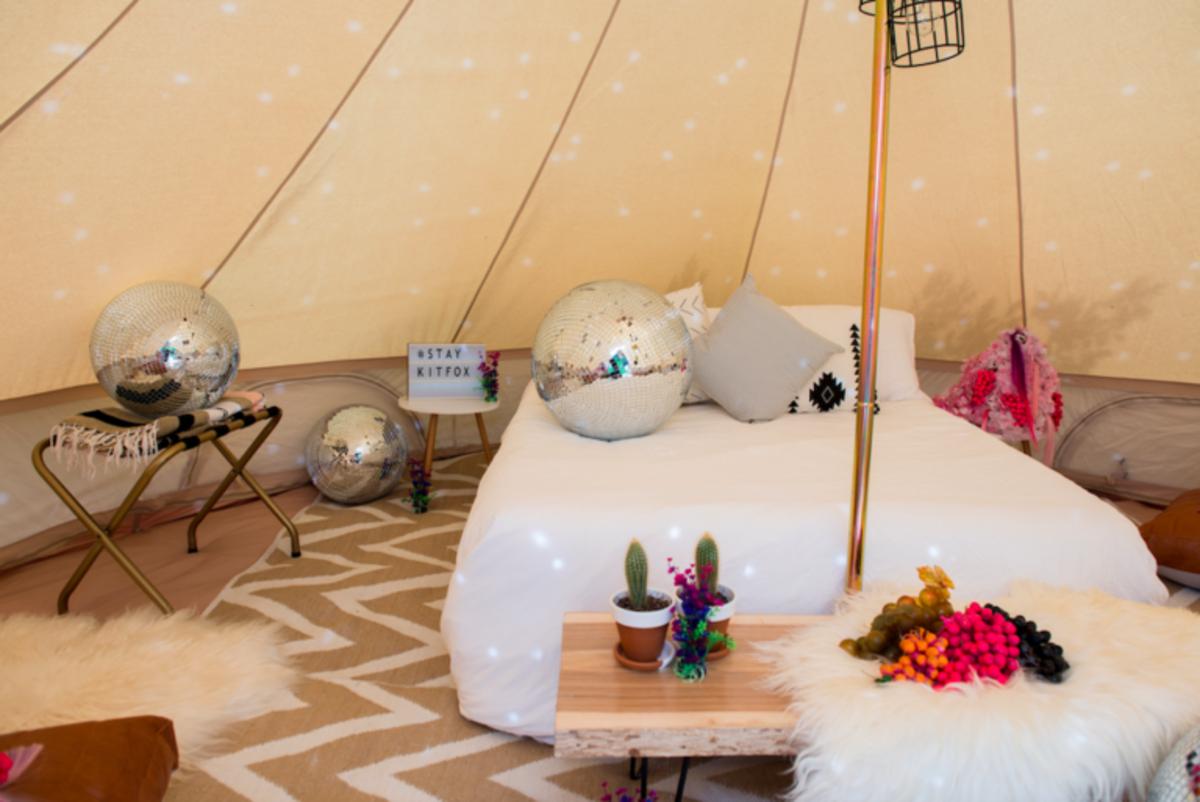 taos vortex glamping tent