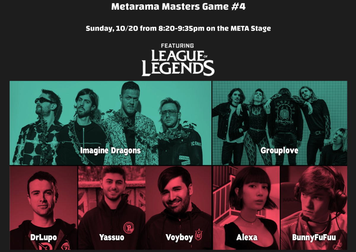 Metarama Masters Game #4 (League Of Legends) - Imagine Dragons, Grouplove, and more!