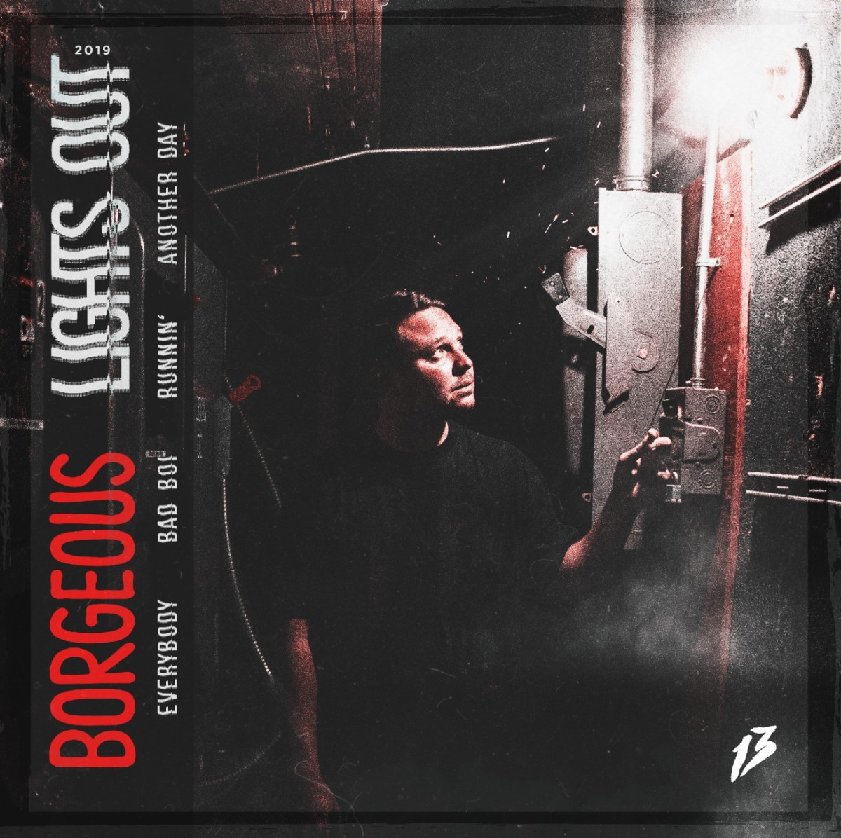 Borgeous - Lights Out EP (Album Artwork / Cover Art)