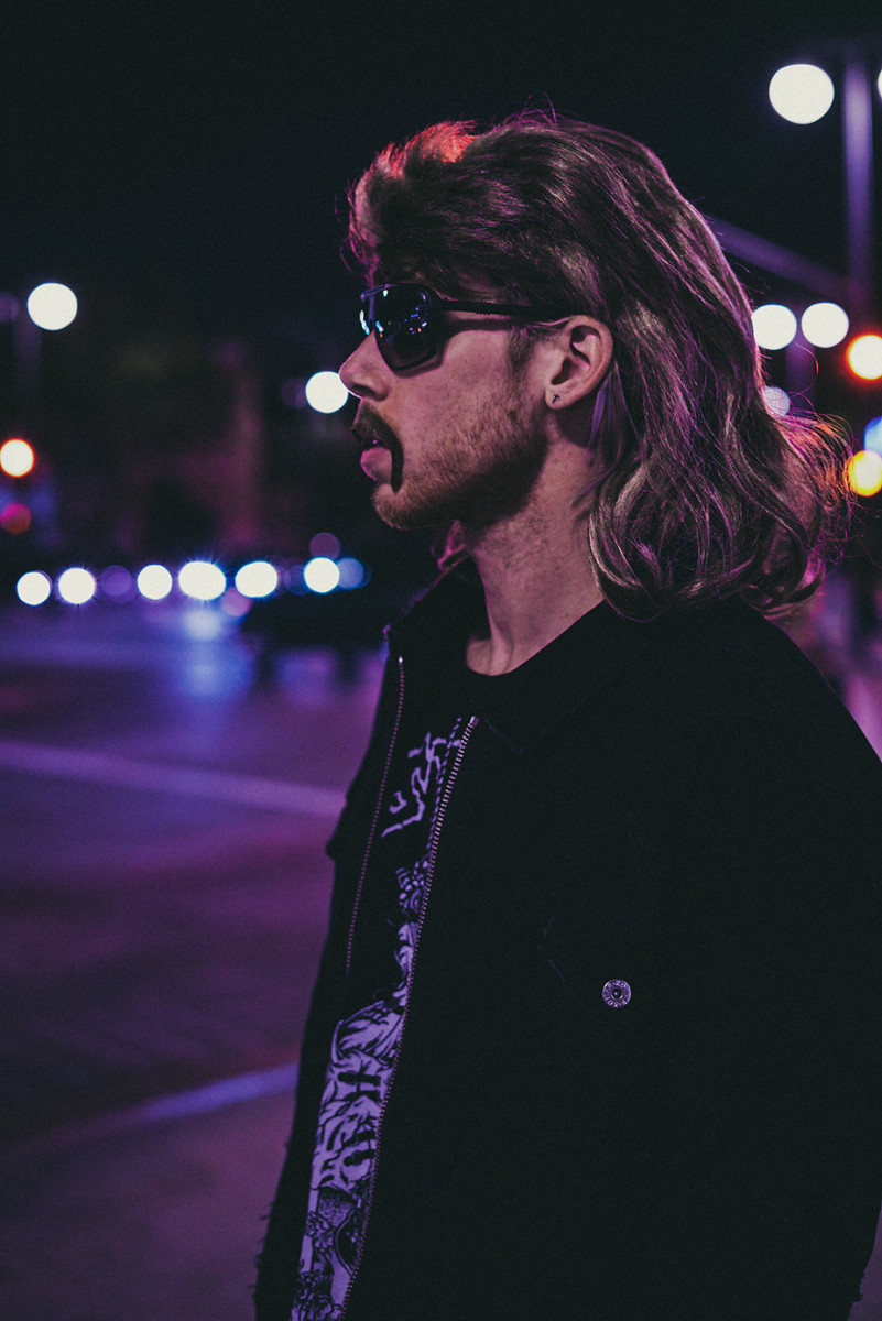 Ace Marino - Purple Profile Photo w/ Sunglasses