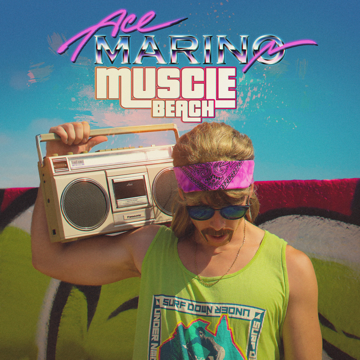 Ace Marino - Muscle Beach (Album Artwork)