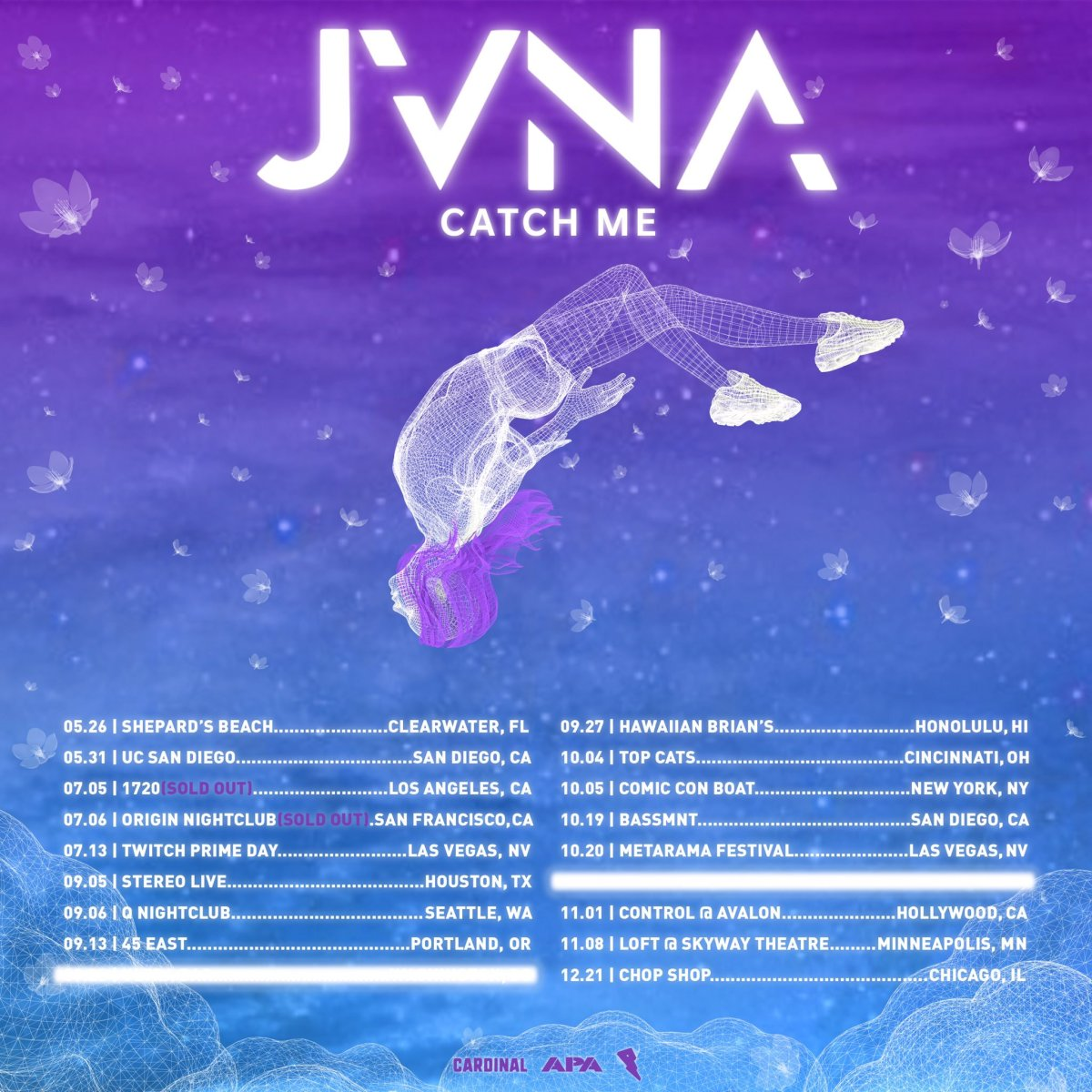 JVNA Catch Me Tour
