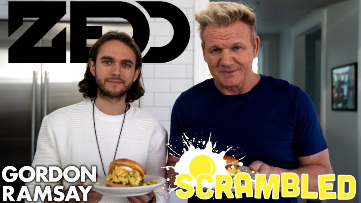 Zedd and Gordon Ramsey Remix The Breakfast Sandwich