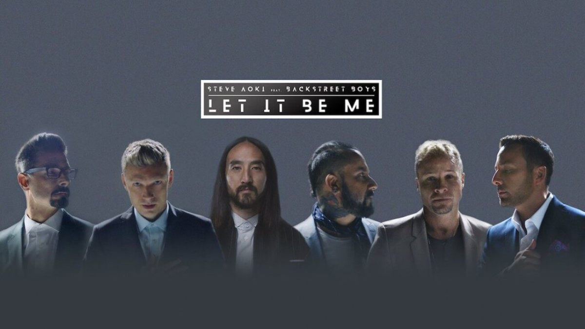 "Steve Aoki and Backstreet Boys Release ""Let It Be Me"" Video"