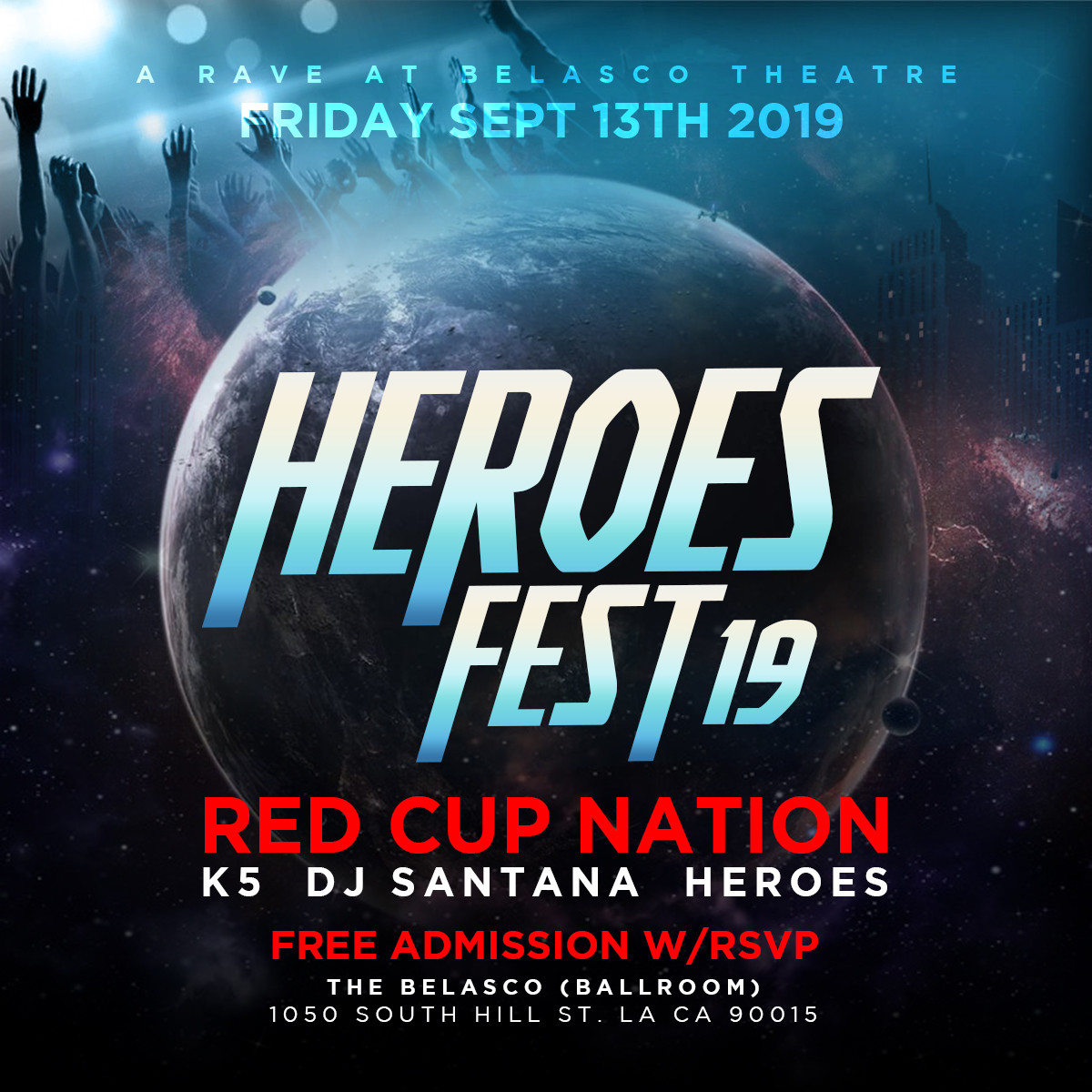 Heroes Fest '19 to Bring All-Star Lineup to the Belasco Theater this Weekend