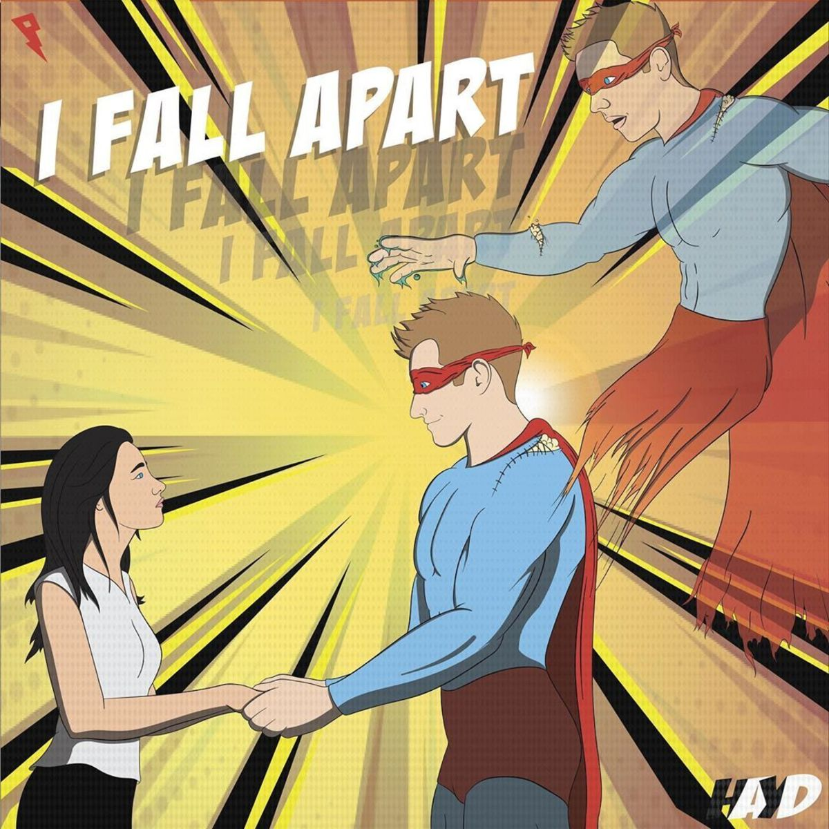 Hayd I Fall Apart Album Art