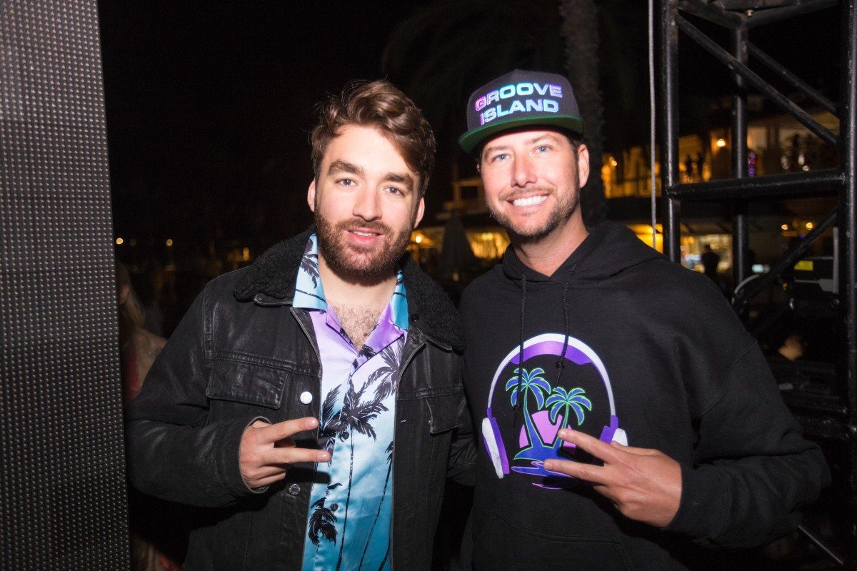 Oliver Heldens & Jason Beukema @ Groove Island