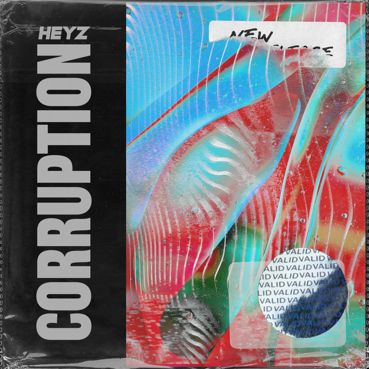HEYZ Corruption Album Art