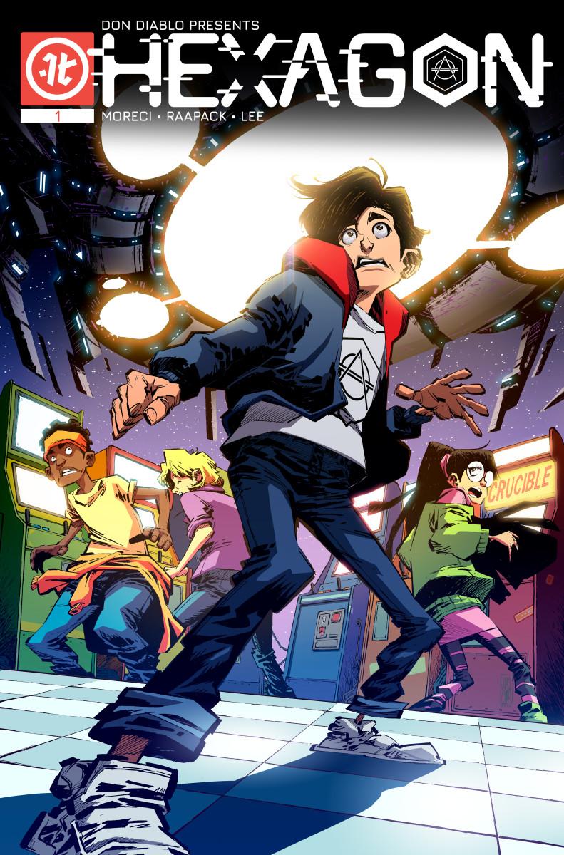 Don Diablo Hexagon Comic Book