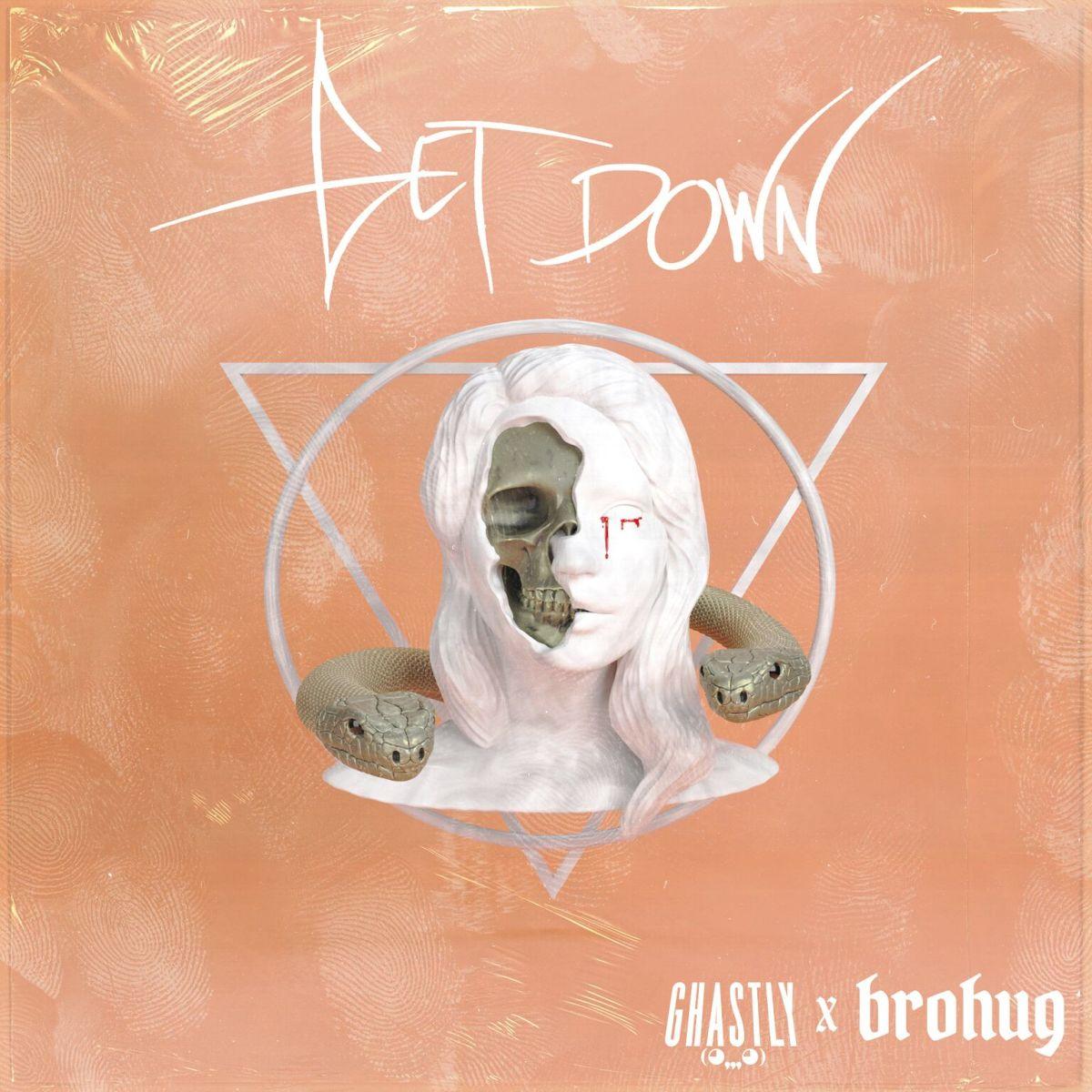 Ghastly BroHug Get Down Album Artwork
