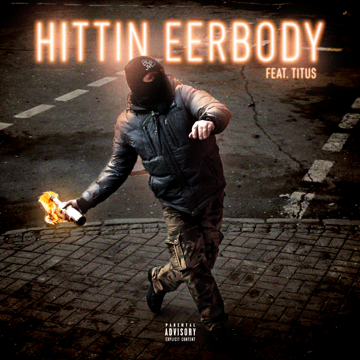 BLVK JVCK - Hittin Eerbody (Album Artwork)