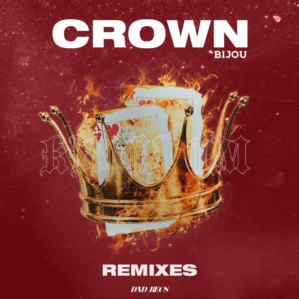 BIJOU Crown Remixes Album Art