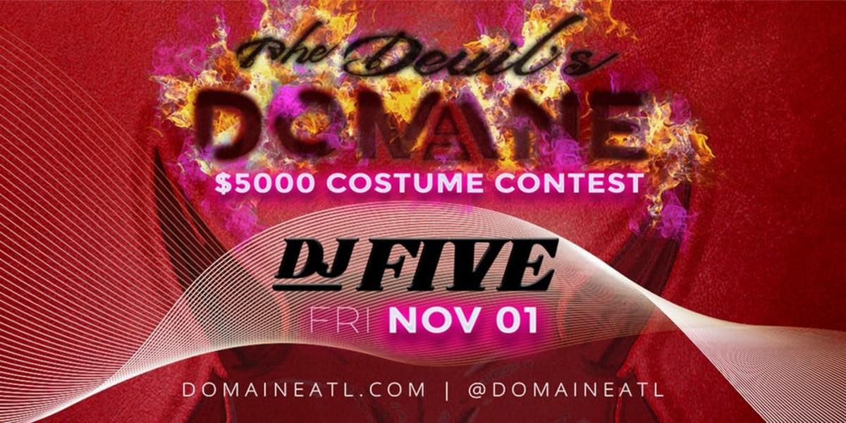 The Devils Domain - $500 Costume Contest at Domaine Atlanta Nightclub