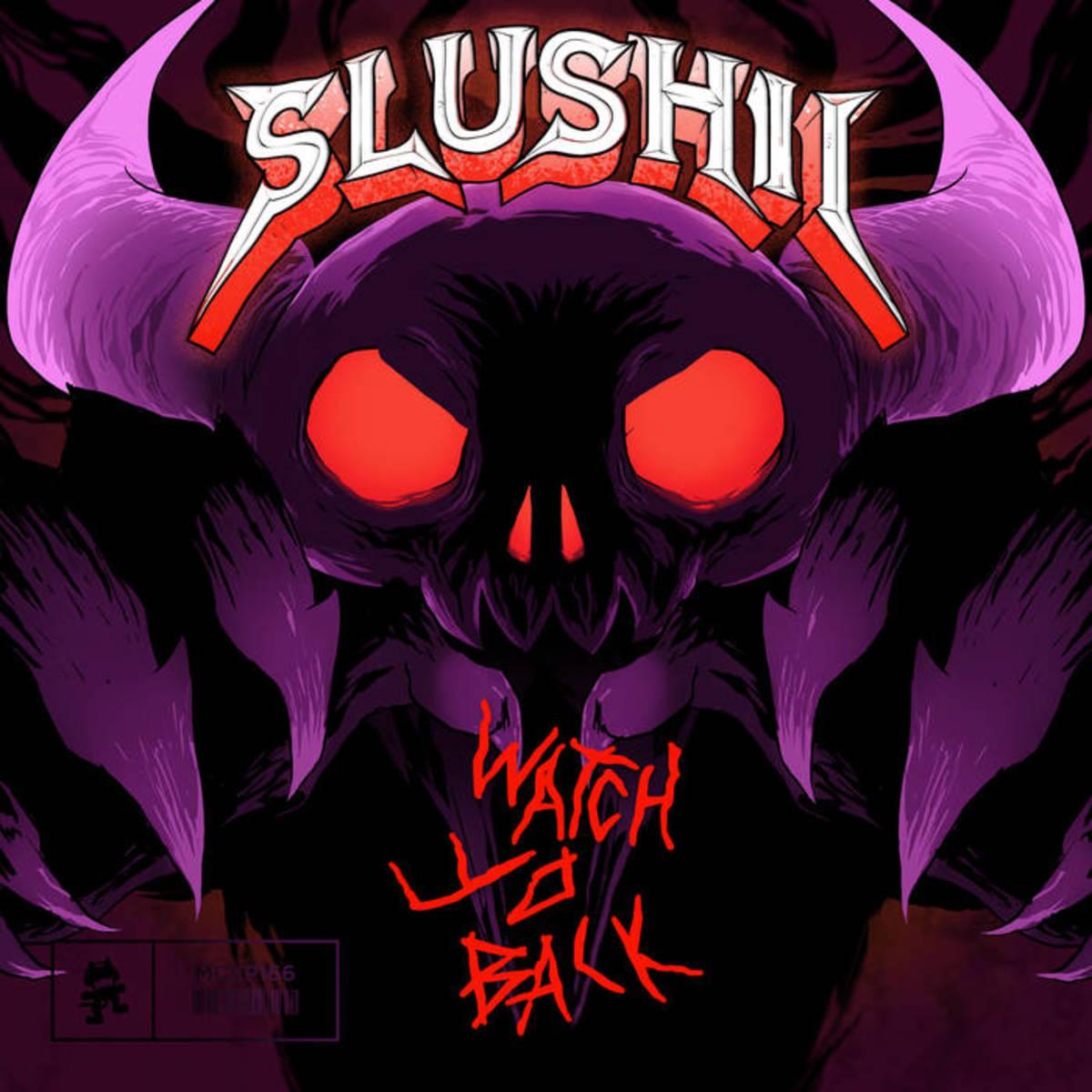 Slushii - Watch Yo Back (EP ALbum ARtwork)