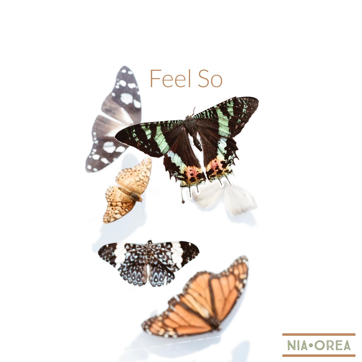 Nia Orea - Feel So (Album Artwork)