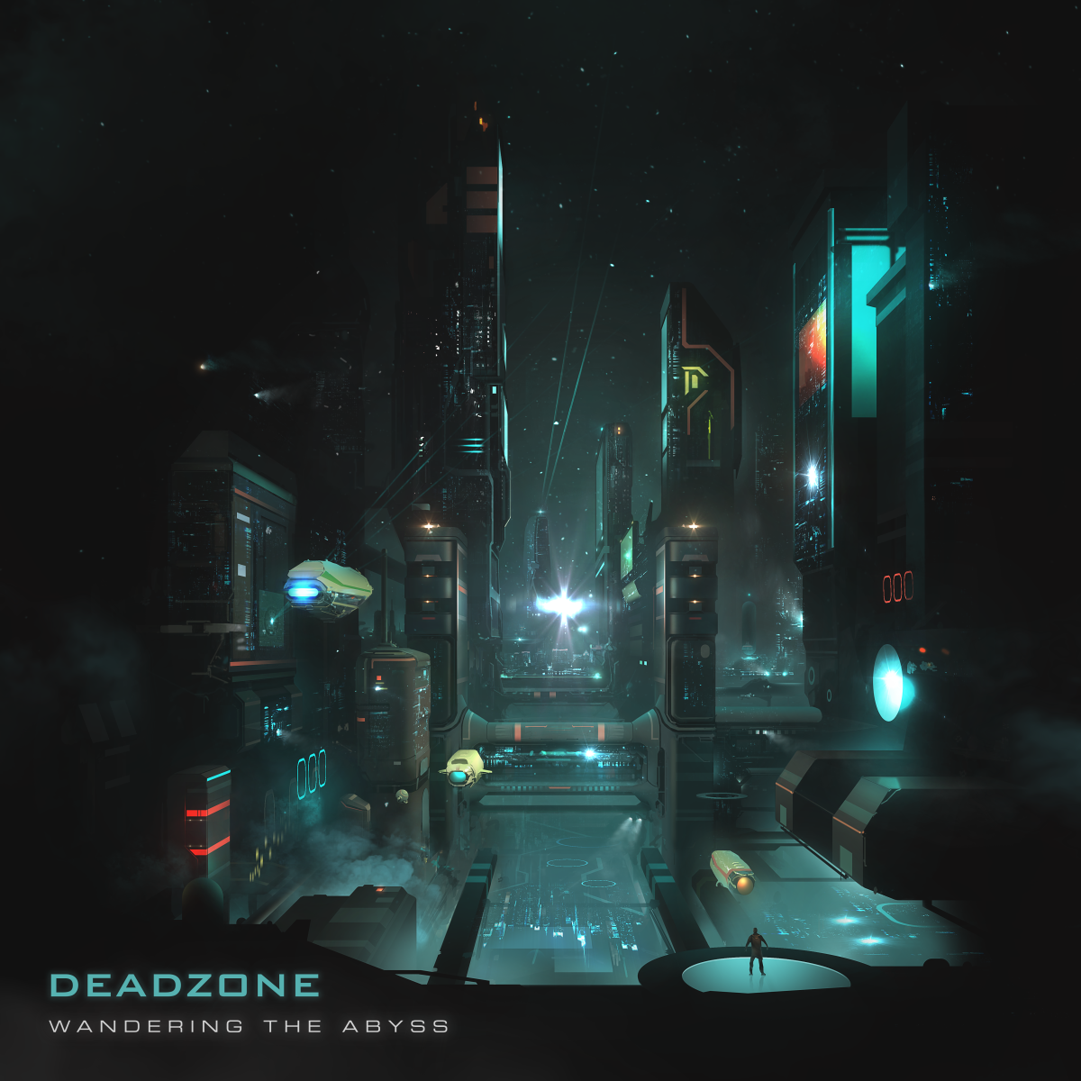 Deadzone - Wandering The Abyss (ALBUM ARTWORK)
